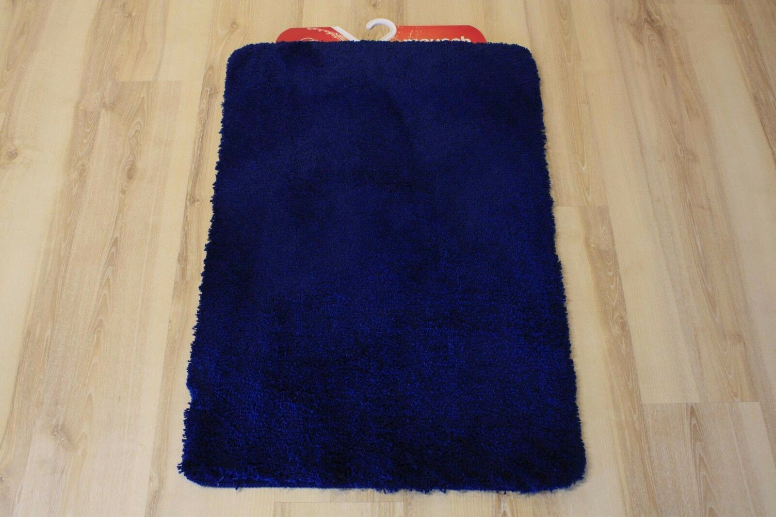 Badteppich Badematte Meusch Super Soft 789 dunkelblau 70x120cm