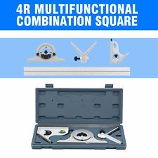 12 Blem Cosmetic Second 4r 4pc Combination Machinist Square Protractor Tool Set