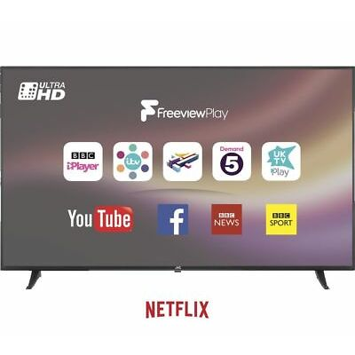 "JVC LT-65C880 65"" Smart 4K Ultra HD HDR LED TV - Currys"