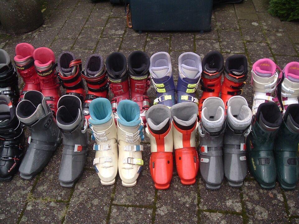 Skistøvler, Nordica, Lange
