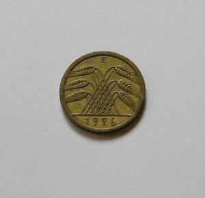 Weimar: 5 Reichspfennig 1926E, J. 316 , Muy Bonito, II