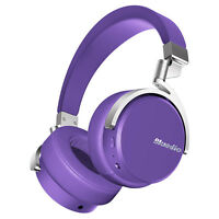 Bluedio Vinyl Bluetooth4.1 Stereo Headsets Wireless Headphones Big Bass With Mic