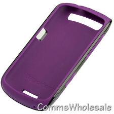 Genuine Blackberry ACC-39406-202 Purple/Black Premium Skin Curve 9370 9360 9350