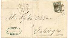 P6969   Pisa, Bientina, annullo numerale  a sbarre 1885