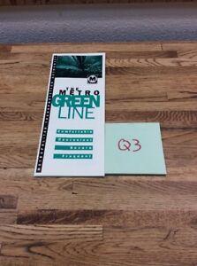 1b35857b LOS ANGELES METRO GREEN LINE BROCHURE EUC Q-3 9786131848292   eBay