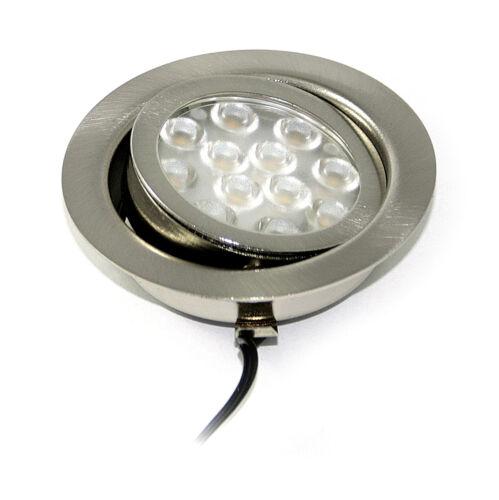 12v LED Meubles installation feux sets Inge k2230-s schwenkb 3 watt ip20 /& Accessoires