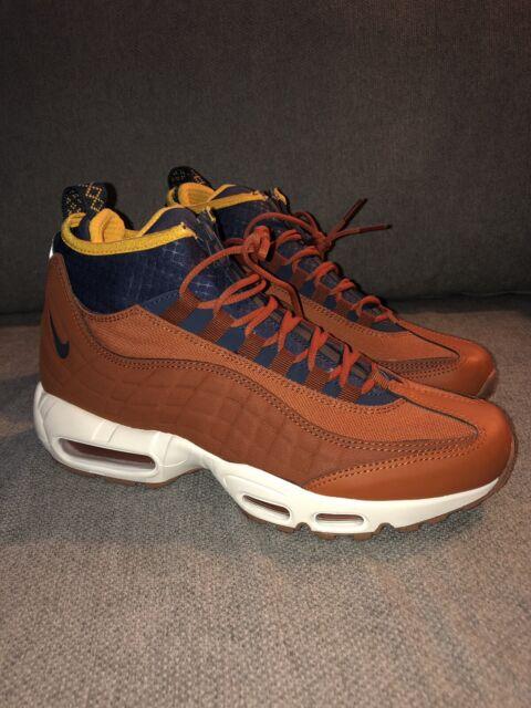 Nike Air Max 95 Sneakerboot Dark Russet 806809 204 Men's Size 8