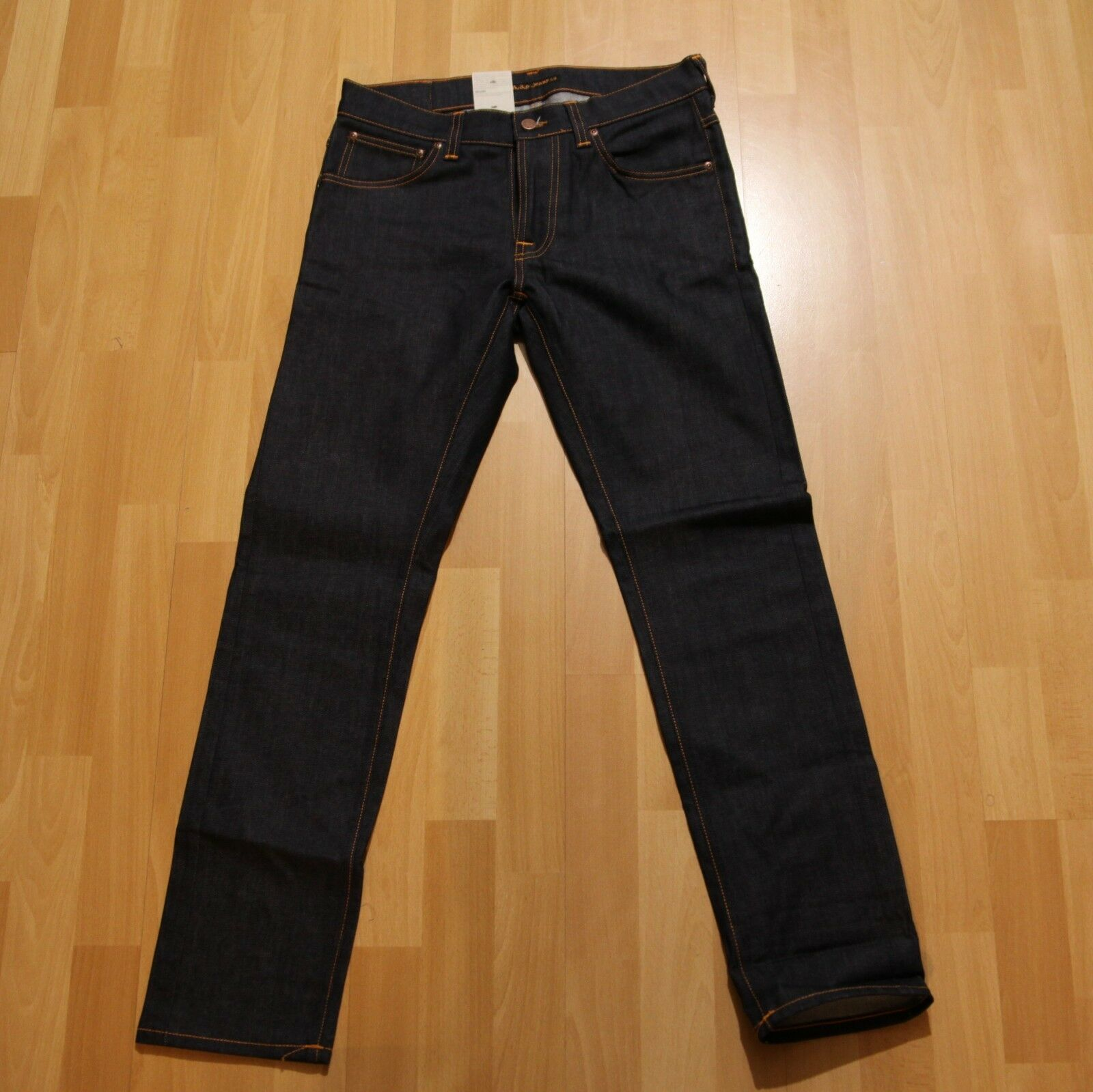 NEU Nudie Jeans TILTED TOR (Tight Fit) Dry Pure Navy 32 32
