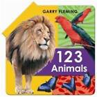 123 Animal Fold Out Book by Garry Fleming (Hardback, 2011)