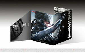METAL-GEAR-SOLID-RISING-REVENGEANCE-PS3-TOKYO-GAME-SHOW-PRESS-BOOK-YOJI-SHINKAWA