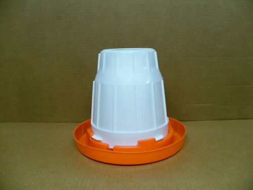 3 New 1 Gal Waterer Chicken #680  Plastic Poultry