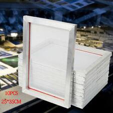 10 Pack Silk Screen Printing Machine Press Frame 110 Kit Set For T Shirt Printer