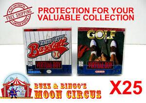 25x-NINTENDO-VIRTUAL-BOY-CIB-GAME-BOX-PROTECTIVE-BOX-PROTECTOR-SLEEVE-CASE
