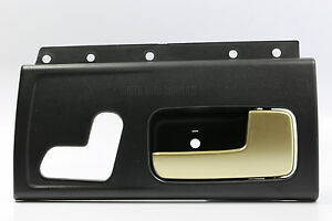 Image Is Loading New Black Amp Gold Inside Door Handle Front