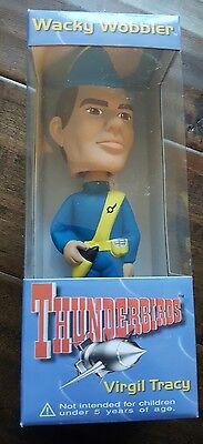 Ausdrucksvoll 1999 Funko Wacky Wobblers Thunderbirds Vergil Tracy Wackelkopf Nodder Eine Hohe Bewunderung Gewinnen