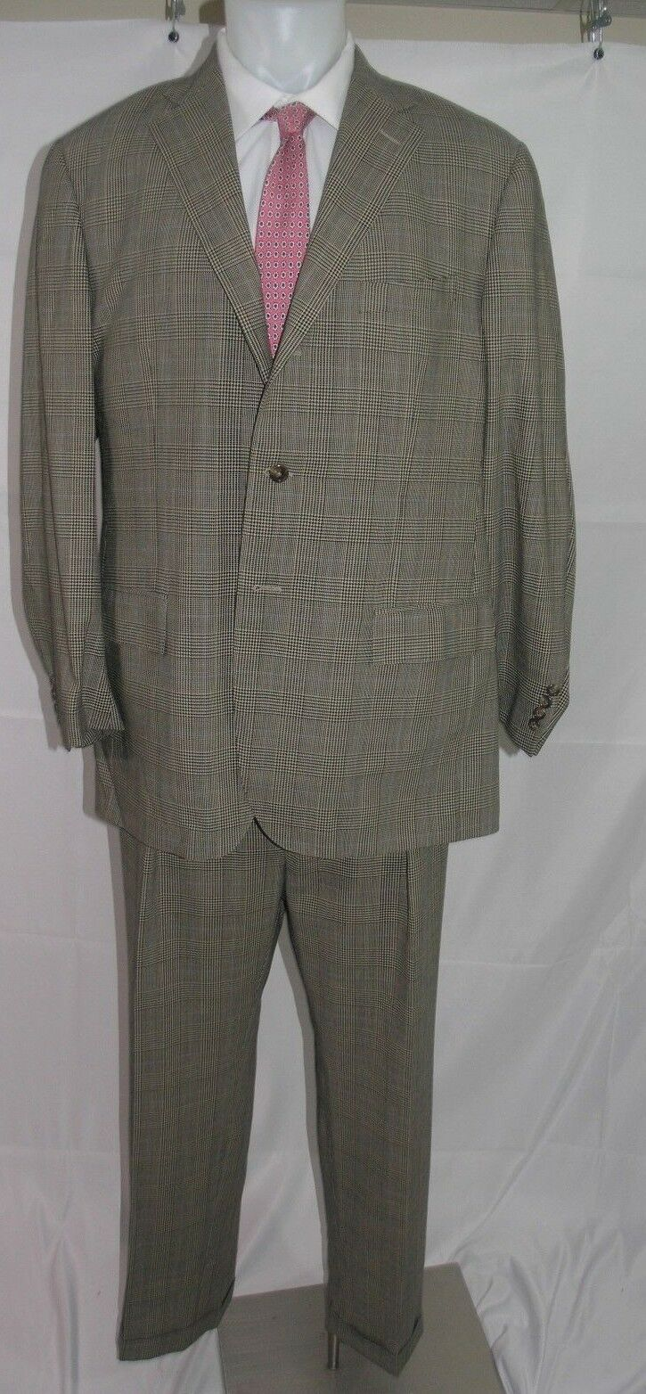Polo Ralph Lauren x Corneliani Wool Mohair Blend Suit 46 L 36 x 31