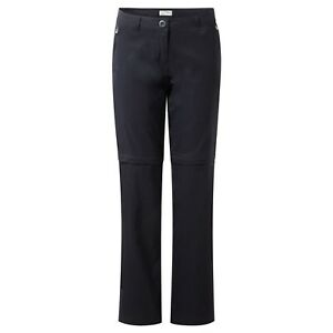 Craghoppers-Womens-Ladies-Kiwi-Pro-Stretch-Convertible-Trousers-Walking-Zip-Off