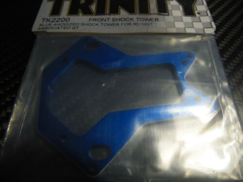 GT TRINITY TK2200 Blue Anodized Shock tower ASSO RC10 T T2