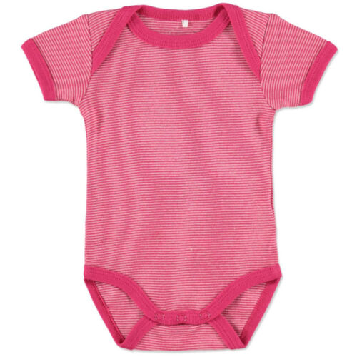 NAME IT Girls Baby Body bright rose Größe 74//80 Kurzarm 100/% Baumwolle NEU/&OVP