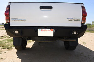 HEAVY DUTY REPLACEMENT REAR BUMPER FOR 2005-2015 TOYOTA TACOMA