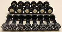 ☀️new Lego 70 Pc Wheels Vehicle Parts Car Truck Tires Rim Sets Lot
