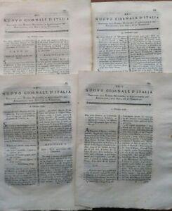 1791-RARE-RIVISTE-GEOLOGIA-MARNA-DI-NONA-NIN-IN-DALMAZIA-E-BOSCHI-TREVIGIANI