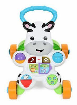 Considerate Fisher Price Fisher-price Zebra Walker Push Pull Along Toy Bn
