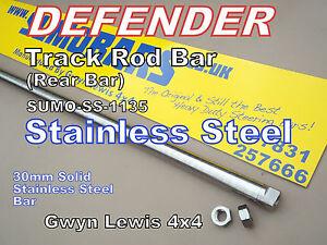 Defender 90 110 130 Stainless Steel Track Rod Bar Heavy Duty steering SUMOBARS