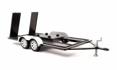 Rimorchio Carrello Trailer For Car MotorMax 1:18 MTM76009 Modellbau