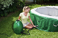 Portable Spa Coleman Massage Inflatable Hot Tub For 4-6 People Person Tubs
