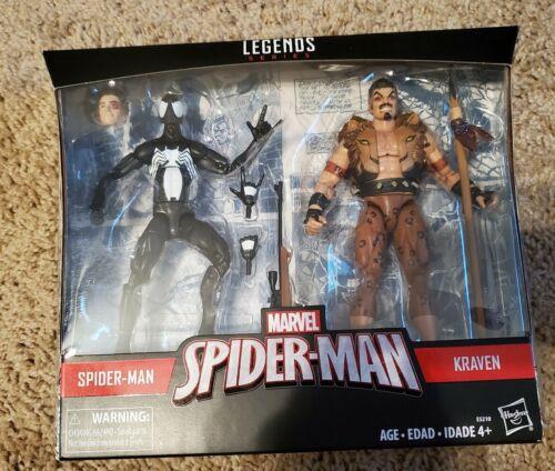 Symbiote Spider-Man vs Kraven Marvel Legends Spider-Man Exclusive 2-Pack