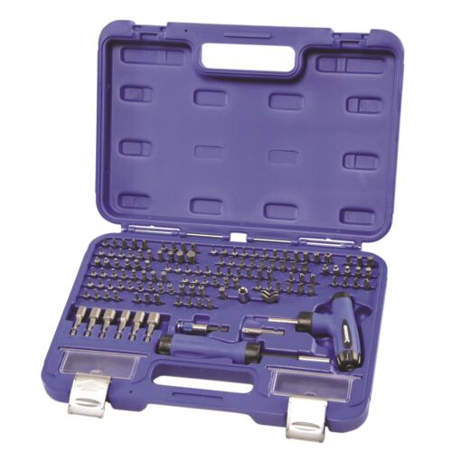 Kincrome UNIVERSAL BIT SET 128Pieces Sturdy Blow Mould Case Australian Brand