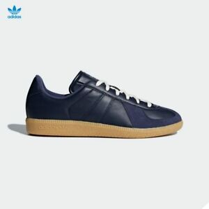 buy popular 7e56b 93691 Details about Adidas Original BW Army Leather Shoes White Navy CQ2755  CQ2756 SZ 4-11