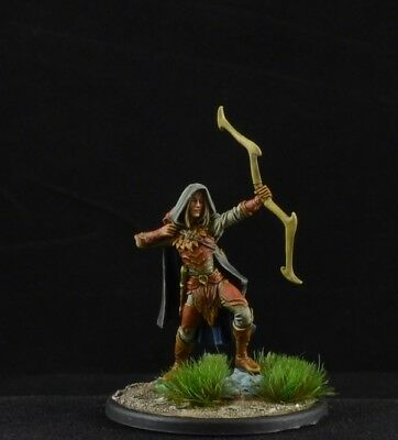 Painted Male Wood Elf Archer From Dark Sword Miniatures D
