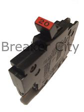 Federal Pacific 20 Amp 1 Pole Type Nc Circuit Breaker Fpe Stab Lok Thin Nc120