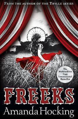 1 of 1 - Freeks by Amanda Hocking..LIKE NEW