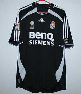 finest selection 6a768 2f207 Details about Real Madrid Spain away shirt 06/07 Adidas Size XL