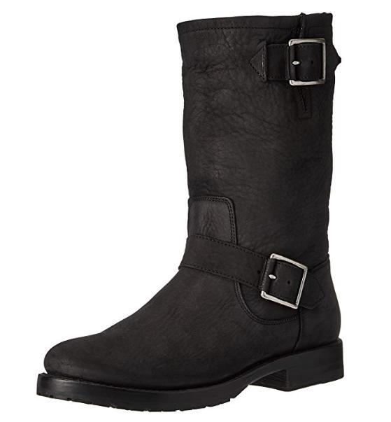 risposta prima volta Frye Frye Frye NEW Natalie Mid Calf Engineer nero Leather donna stivali 7 RUNS SMALL  398  per poco costoso