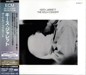 Keith-Jarrett-034-The-Koln-Concert-034-Japan-SACD-w-OBI-NEW-SEALED-Tower-Records