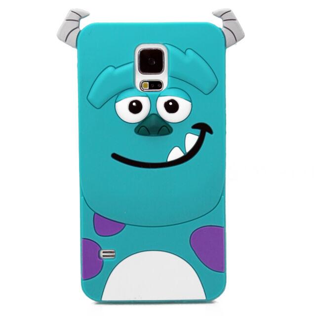 Cute 3D Cartoon Silicone Case Cover for Samsung Galaxy S3 S4 Mini S5 Note 2 3 4