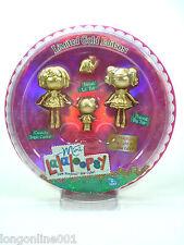 LALALOOPSY Mini Limited Gold Edition Jewel Sparkles Spot Splatter Splash Trinket