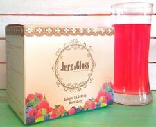 Health drinking Jerz and Gloss Collagen Peptide Collagen 10,000 mg. 20 sachets.