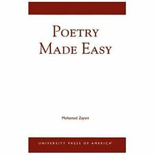 POETRY MADE EASY - NEW PAPERBACK BOOK