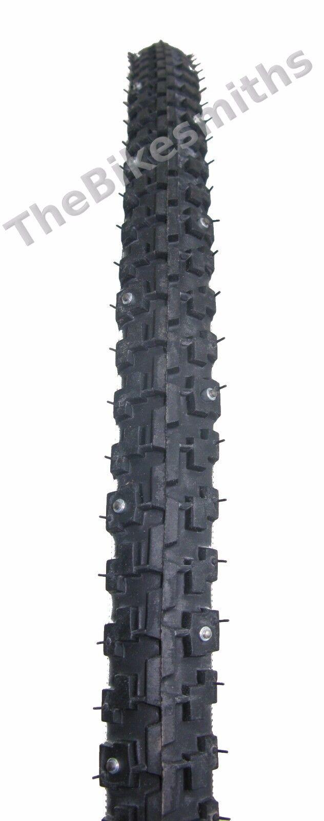 Nokian Suomi A10 700 X 32   40c Snow  Ice Studded Bike Tire Wire Tyre Hybrid