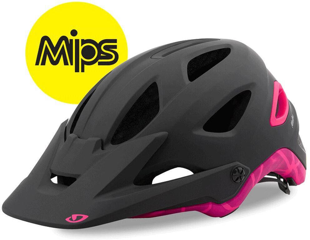 Giro Montara MIPS para Mujer Bicicleta De Montaña Casco para ciclismo-Negro