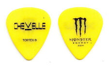 Chevelle Monster Energy Yellow Guitar Pick - 2012 Tour