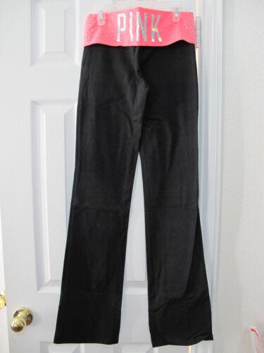 Secret strass Pietre tagliati Neon Yoga xs reg Coral Pantaloni Victoria's Nwt Pink YTHqyAWaw5