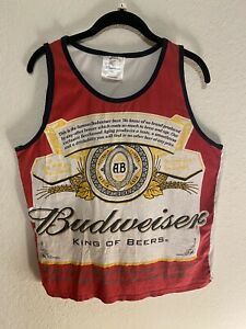 Budweiser Beer Vintage Halter Top Medium