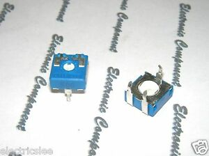 5pcs- ACP CA9PV10-500A 500R TYPE-A Variable resistor Potentiometer / Trimmer-9mm