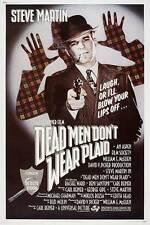 DEAD MEN DON'T WEAR PLAID Movie POSTER 27x40 C Steve Martin Rachel Ward Reni